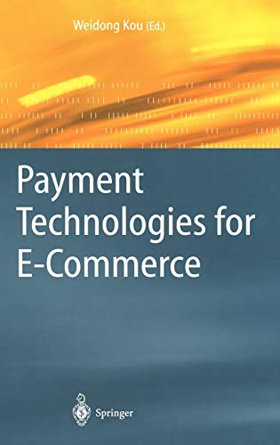 9783540440079: Payment Technologies for E-Commerce