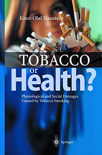 9783540440314: Tobacco or Health?