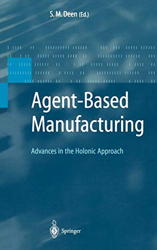9783540440697: Agent Based Manufacturing