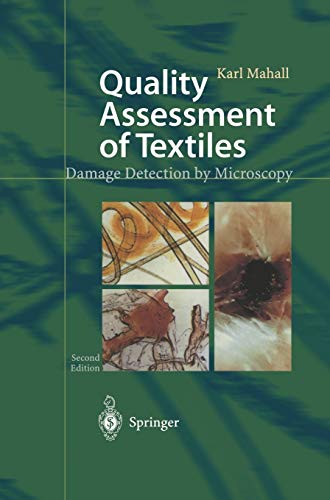 9783540440727: Quality Assessment of Textiles: Damage Detection by Microscopy