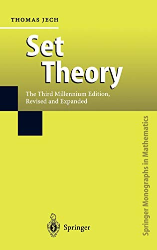 Set Theory: The Third Millennium Edition, revised: Thomas Jech