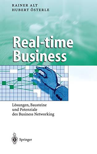 9783540440994: Real-time Business: L÷sungen, Bausteine Und Potenziale Des Business Networking