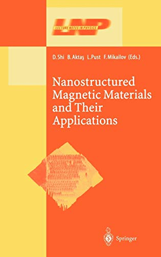 9783540441021: Nanostructured Magnetic Materials and Their Applications (Lecture Notes in Physics)