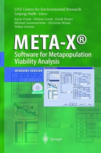9783540441823: META-X - Software for Metapopulation Viability Analysis