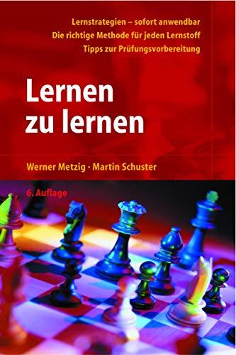 9783540442646: Lernen zu lernen: Lernstrategien wirkungsvoll einsetzen (German Edition)