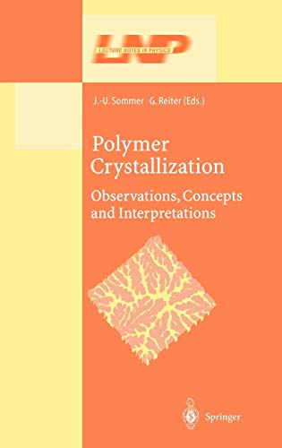 9783540443421: Polymer Crystallization: Obervations, Concepts and Interpretations (Lecture Notes in Physics)