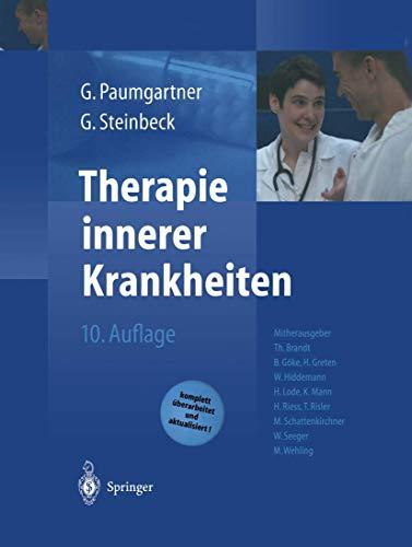 Therapie innerer Krankheiten [Gebundene Ausgabe] von T.: T. Brandt (Herausgeber),