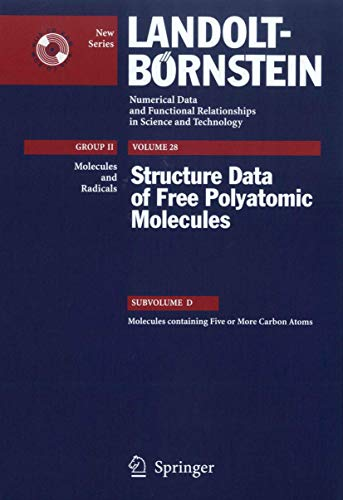 Molecules containing Five or More Carbon Atoms (Hardcover)