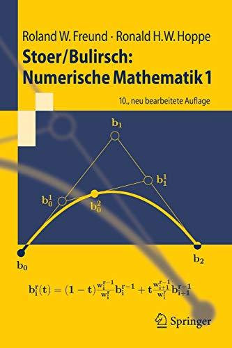 StoerBulirsch: Numerische Mathematik 1: Ronald W. Hoppe