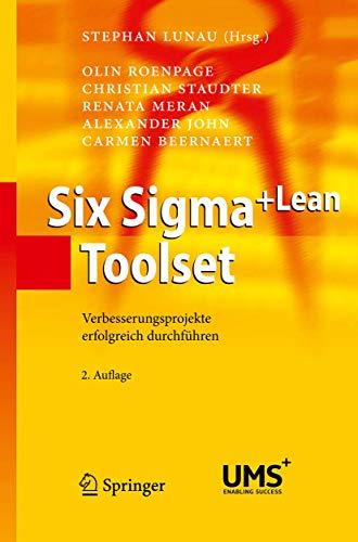 9783540460541: Six Sigma+Lean Toolset: Verbesserungsprojekte erfolgreich durchführen (German Edition)