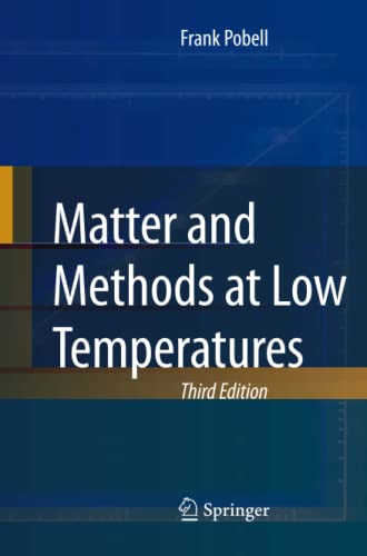 9783540463566: Matter and Methods at Low Temperatures