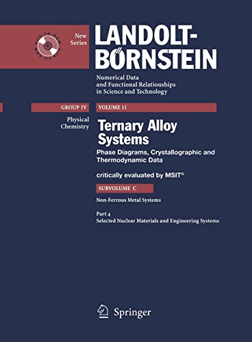 Ternary Alloy Systems: Phase Diagrams, Crystallographic and Thermodynamic Data Non-ferrous Metal ...