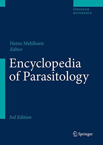 Encyclopedia of Parasitology: Heinz Mehlhorn