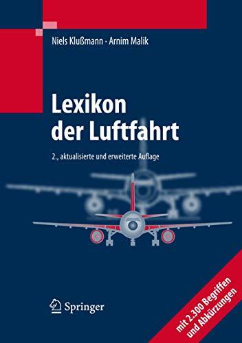 9783540490951: Lexikon der Luftfahrt (German Edition)