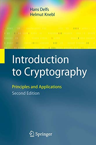 9783540492436: Introduction to Cryptography: Principles and Applications (Information Security and Cryptography)