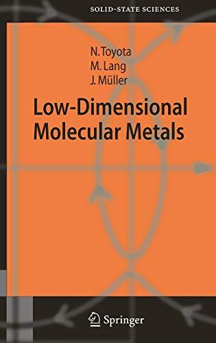 Low-Dimensional Molecular Metals: Naoki Toyota