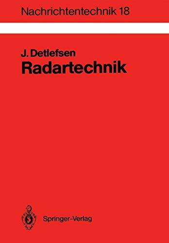9783540502609: Radartechnik: Grundlagen, Bauelemente, Verfahren, Anwendungen (Nachrichtentechnik)