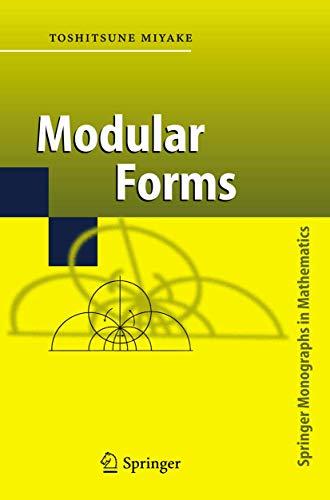 9783540502685: Modular Forms