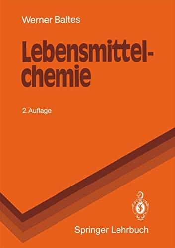 Lebensmittelchemie Berlin