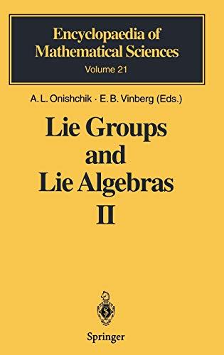 9783540505853: Lie Groups and Lie Algebras II