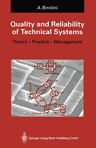 Quality and Reliability of Technical Systems : Alessandro Birolini