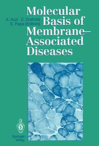 9783540507444: Molecular Basis of Membrane-Associated Diseases