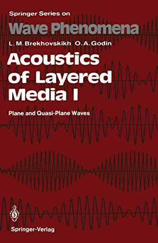 9783540510383: Acoustics of Layered Media I: Plane and Quasi-Plane Waves (Springer Series on Wave Phenomena) (No. 1)