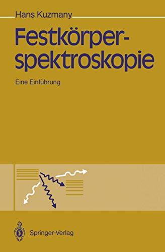 9783540510437: Festkörperspektroskopie: Eine Einführung (German Edition)