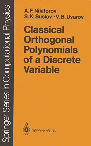 9783540511236: Classical Orthogonal Polynomials of a Discrete Variable (Scientific Computation)