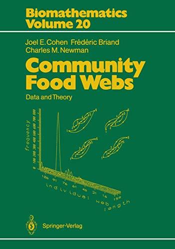 9783540511298: Community Food Webs: Data and Theory (Biomathematics)