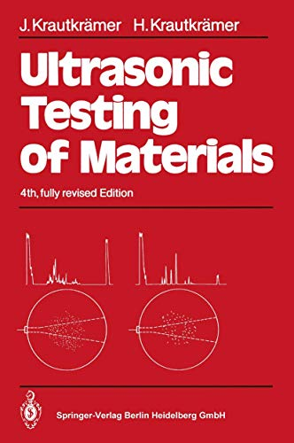 9783540512318: Ultrasonic Testing of Materials