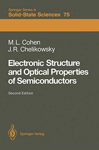 Electronic Structure and Optical Properties of Semiconductors: Marvin Cohen