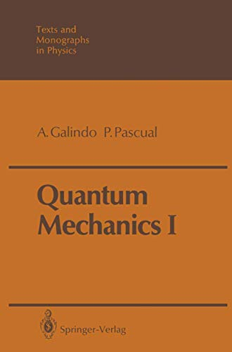 9783540514060: Quantum Mechanics I: v. 1 (Theoretical and Mathematical Physics)