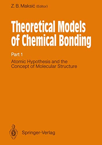 9783540515784: Atomic Hypothesis and the Concept of Molecular Structure (Tertiary Level Biology) (Pt. 1)