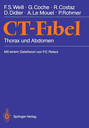 9783540516422: CT-Fibel: Thorax und Abdomen (German Edition)