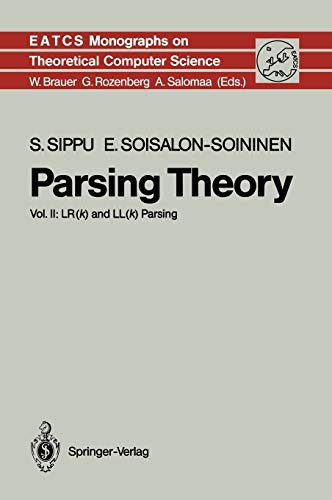 9783540517320: Parsing Theory II: Lr(k) and Ll(k) Parsing
