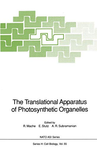 9783540517795: The Translational Apparatus of Photosynthetic Organelles: Workshop Proceedings (Nato ASI Subseries H:)