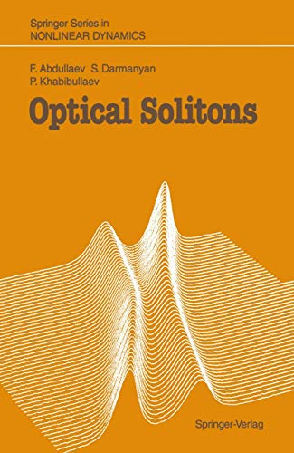 9783540519850: Optical Solitons (Springer Series in Nonlinear Dynamics)