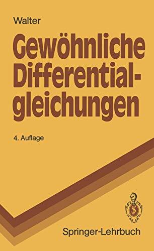 9783540520177: Gewöhnliche Differential-gleichungen: Eine Einführung (Springer-Lehrbuch) (German Edition)