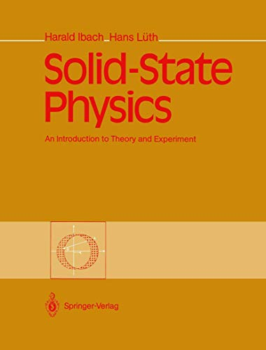 9783540522072: Solid-State Physics: An Introduction to Theory and Experiment