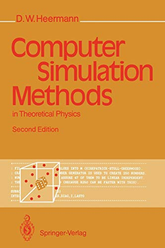 9783540522102: Computer Simulation Methods in Theoretical Physics