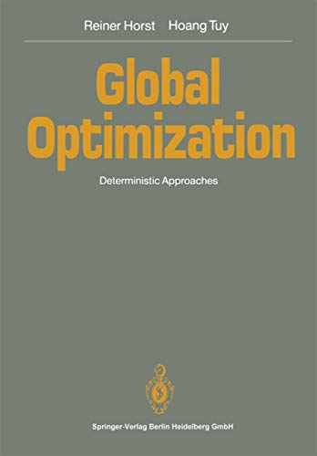 9783540523680: Global Optimization: Deterministic Approaches