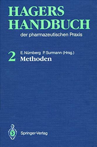 9783540524595: Hagers Handbuch der pharmazeutischen Praxis: Band 2: Methoden