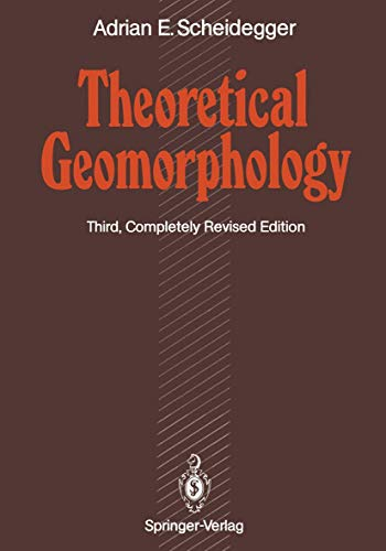 9783540525103: Theoretical Geomorphology