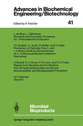 Microbial Bioproducts (Advances in Biochemical Engineering Biotechnology): G.P. Agarwal (Contributor),