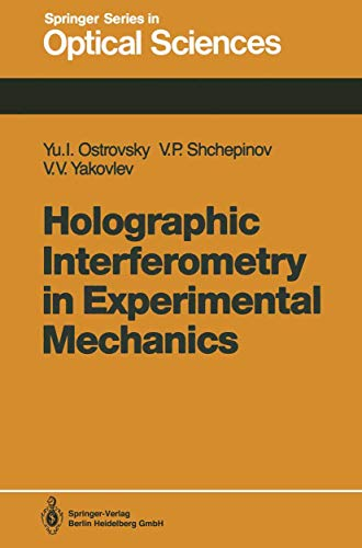 9783540526049: Holographic Interferometry in Experimental Mechanics (Springer Series in Optical Sciences)