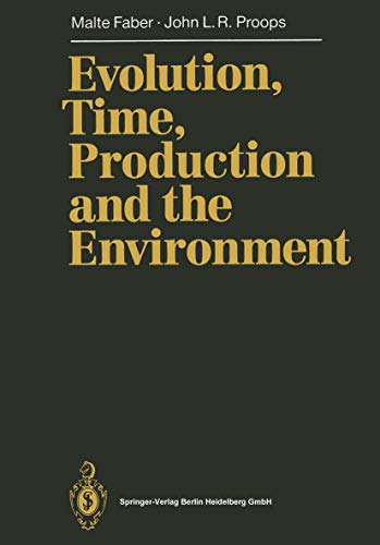 9783540526087: Evolution, Time, Production and the Environment