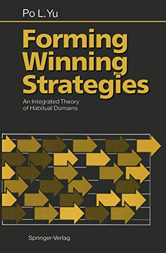9783540526896: Forming Winning Strategies: An Integrated Theory of Habitual Domains