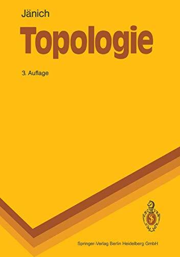 9783540529132: Topologie (Springer-Lehrbuch)