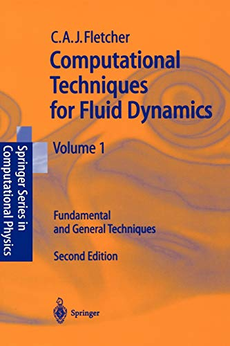 9783540530589: Computational Techniques for Fluid Dynamics, volume 1